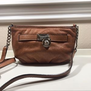Michael Kors Mini Leather Crossbody Bag